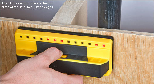 An Instant Stud Finder